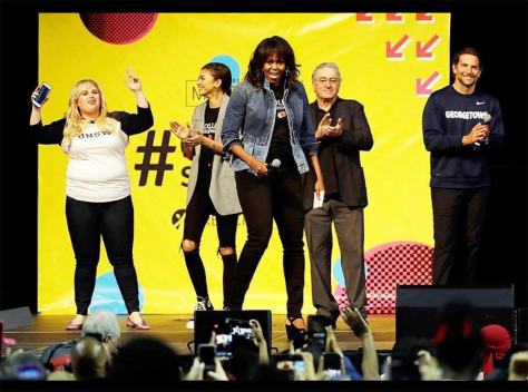 Michelle Obama at College Signing Day