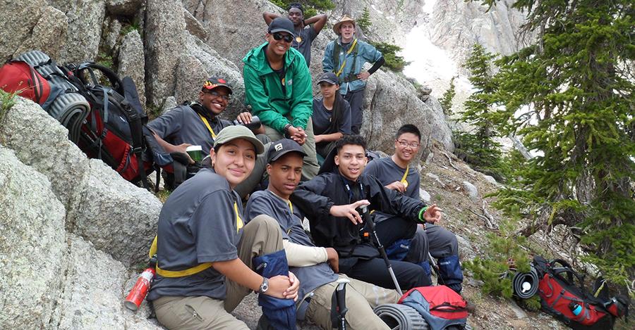 Rock Climbing with NOLS