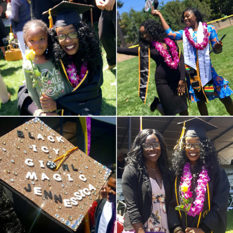 Jennessica graduates from Dominican University of California