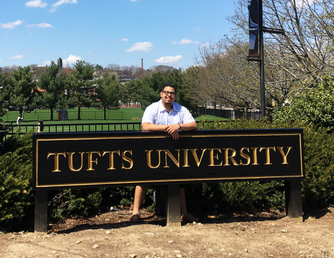 Nigel at Tufts University