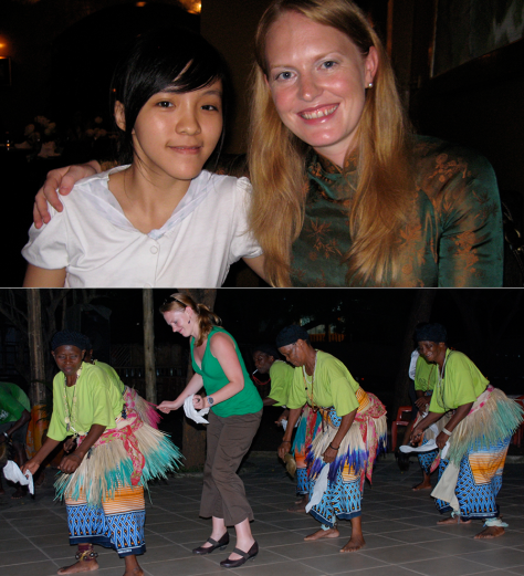 Anna Brittain in Vietnam and Tanzania