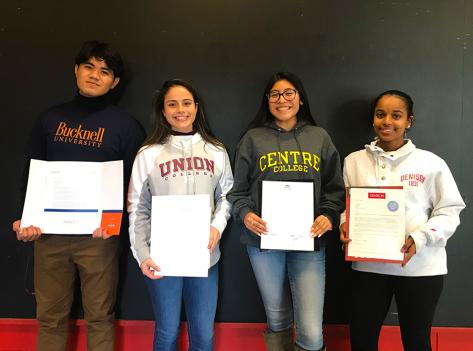 Chelsea High School's 2019 Posse Scholars