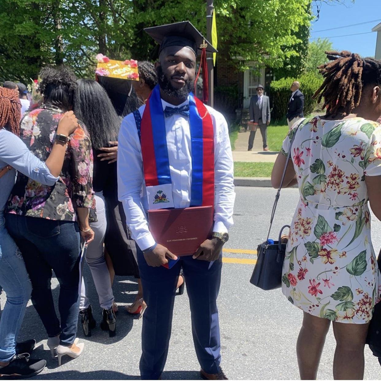 Salomon graduating from East Stroudsburg University