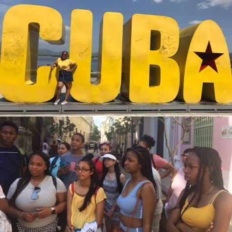 Summer Searchers in Cuba