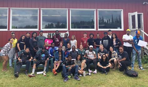 NYC students with NOLS Adirondacks
