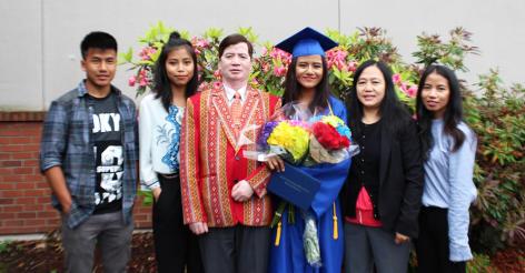 Jessica High School Graduation