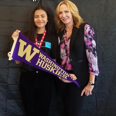 Jessica at University of Washington-Seattle